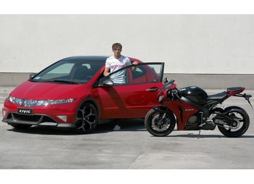 "Honda : Une Civic Type S ""Fireblade Réplica"""