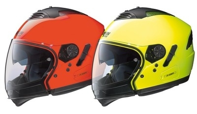 Les Nolan N103 et N43 Air s'habillent en fluo.