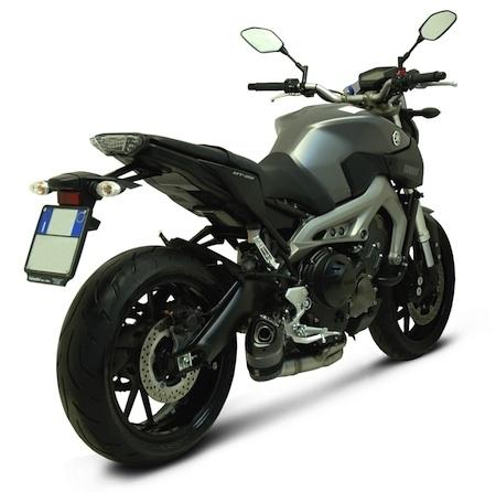 Termignoni muscle la Yamaha MT-09