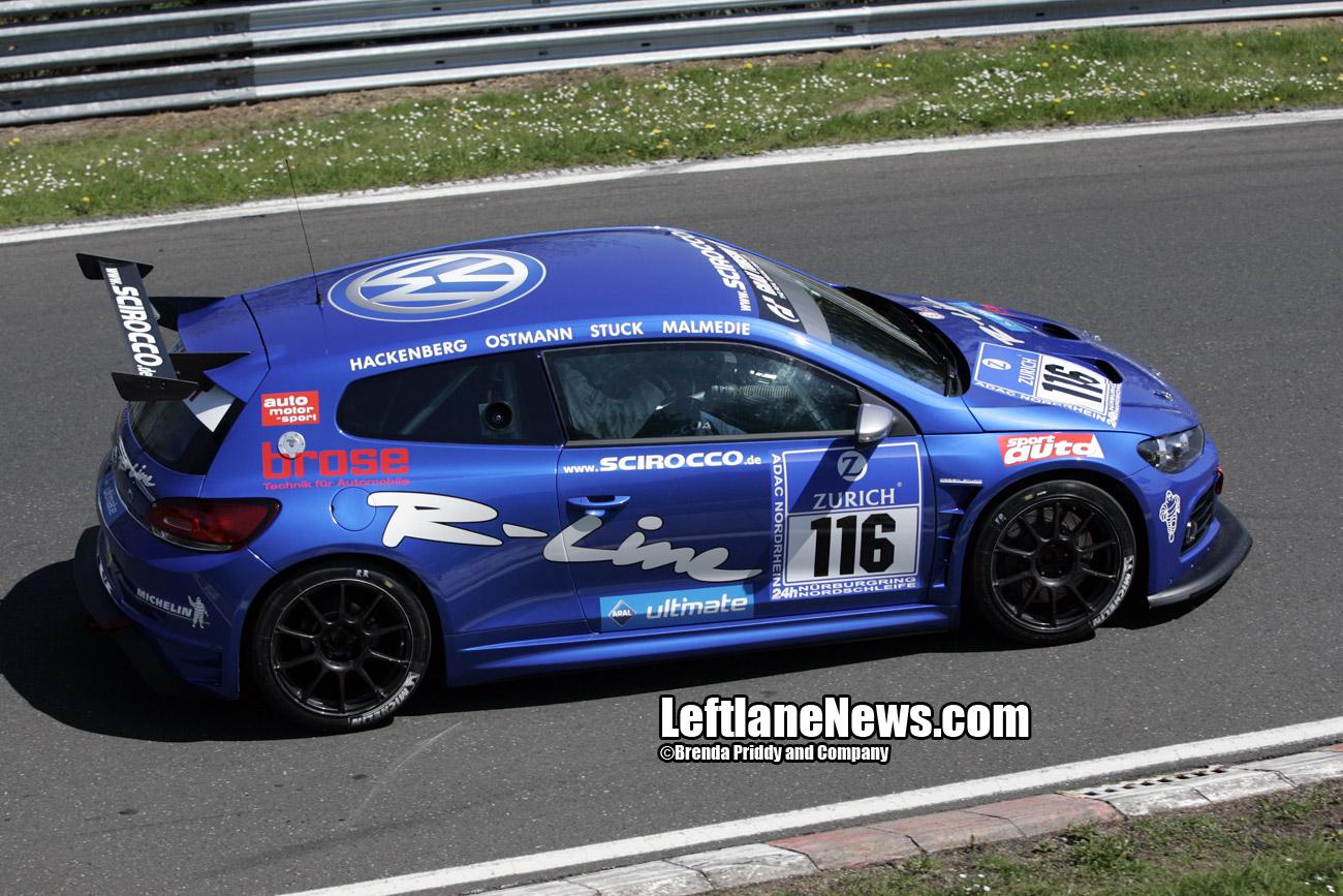 Photos la vw scirocco des 24h du n rburgring for Garage lexus toulouse
