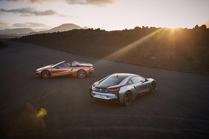 Salon de Los Angeles : BMW dévoile l'i8 roadster