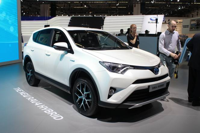 Toyota Rav 4 hybride : enfin - en direct du salon de Francfort