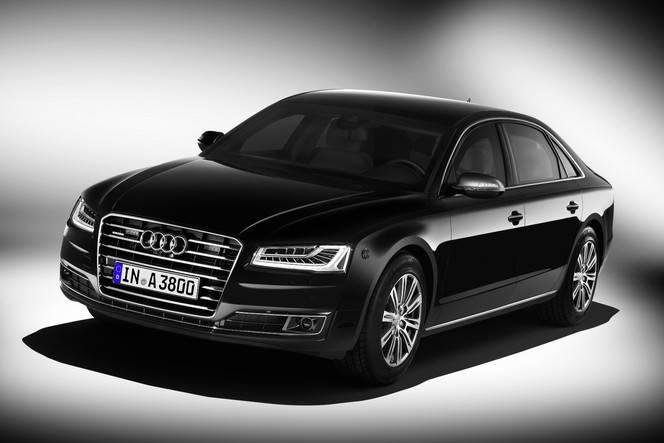 Salon de Francfort - Audi A8 L Security : blindée et plus sûre que jamais