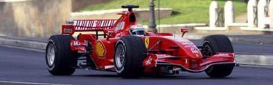 Formule 1: La Ferrari 248 F1 lâchée dans les rues de Rome
