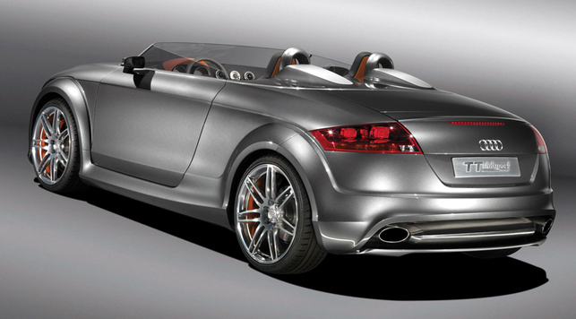 Audi TT Speedster : il existe !