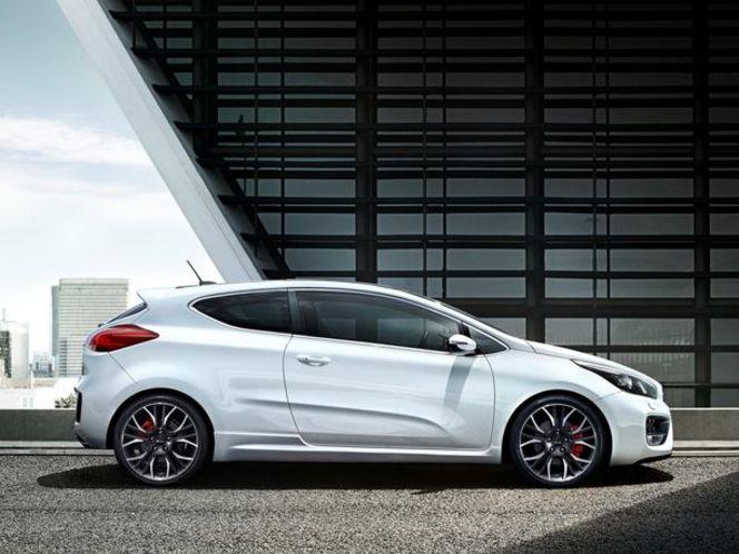 Toutes les nouveautés de Genève 2013 - Kia Pro Cee'd GT : GTI ?
