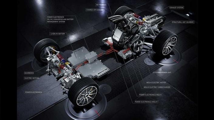 AMG Project One : les cinq moteurs en détail