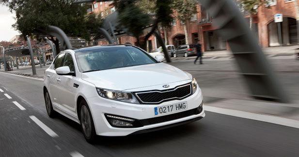Toutes les nouveautés de Genève 2013 - Kia Optima Hybrid restylée : déjà ?