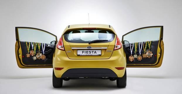 Europe 1er trimestre : la Ford Fiesta reine des citadines devant Clio et Polo