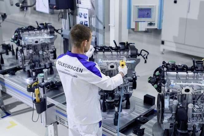 Volkswagen ouvre une usine de moteurs en Russie