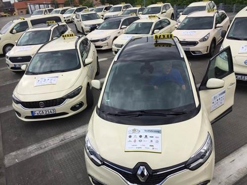 Le taxi de l'année en Allemagne... est une Seat