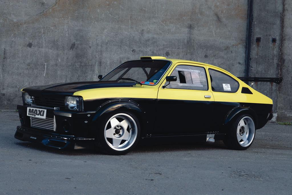 Opel Kadett Gt E Turbo Una Bomba