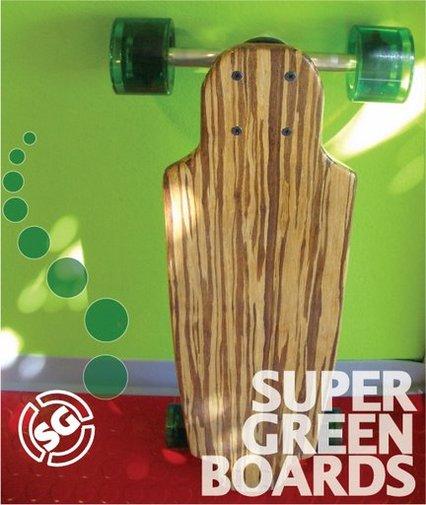 Un skateboard 100% écologique en bambou