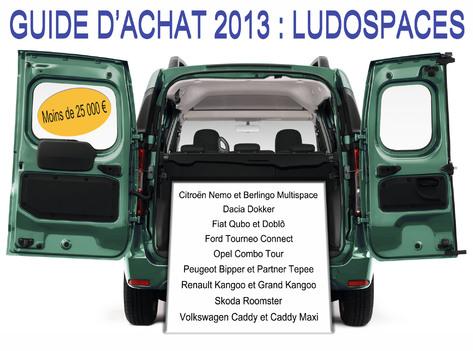 Guide d'achat 2013  - Les ludospaces