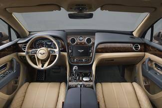 Salon de Francfort 2015 - Bentley Bentayga : baroudeur de luxe