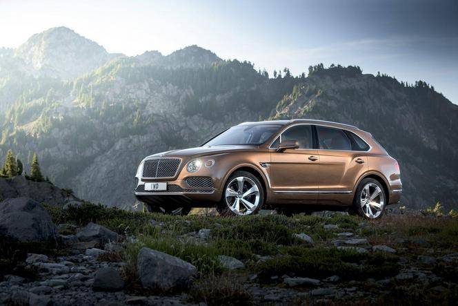 Salon de Francfort 2015 - Bentley Bentayga : baroudeur de luxe
