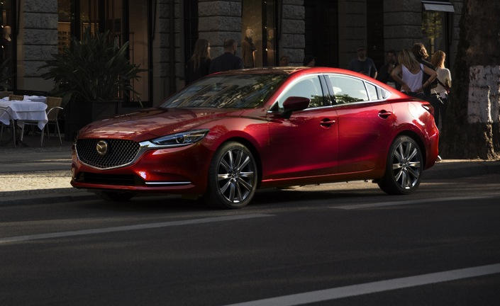 Salon de Los Angeles 2017 - Mazda 6 : encore un restylage