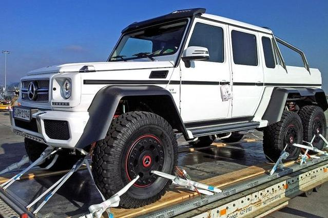 "Mercedes-Benz G63 AMG V8 Biturbo 6x6: ""unique"""