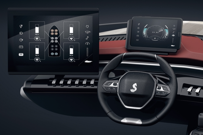 Sea Drive Concept : quand Peugeot se jette à l'eau