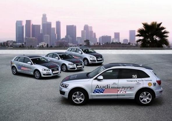 Audi Mileage Marathon : le diesel moins polluant à l'honneur