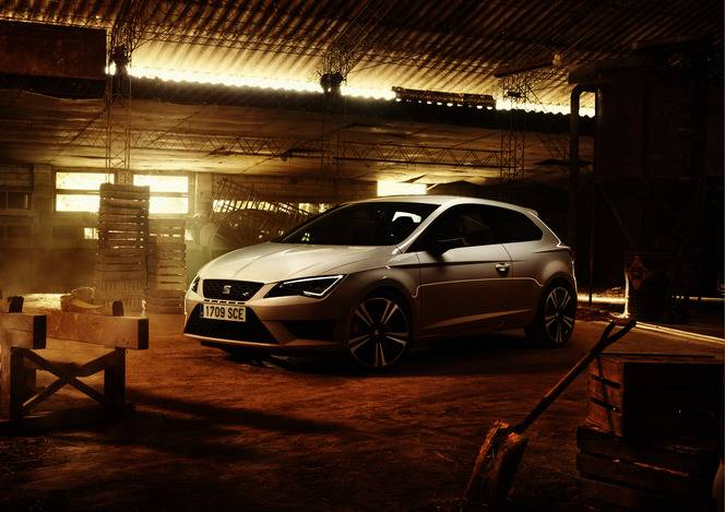 Salon de Francfort 2015 - Seat Leon Cupra : elle passe à 290 ch