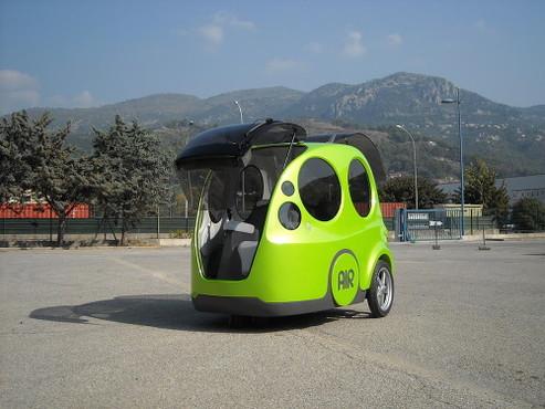 Une auto qui ne manque pas d'air : l'AIRPod de MDI !