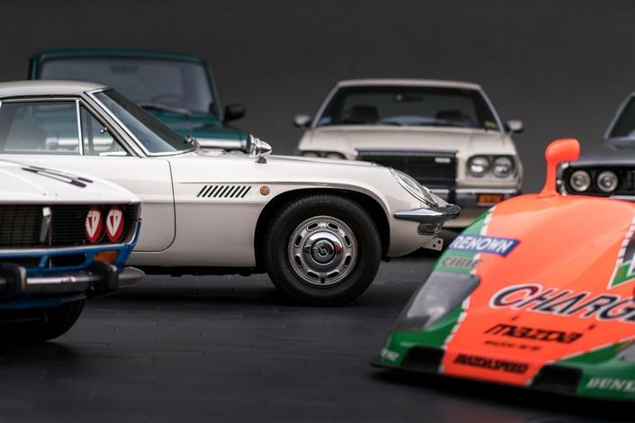 Mazda fête cinquante ans de moteurs rotatifs
