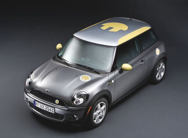 La Mini E dévoilée : électrique !