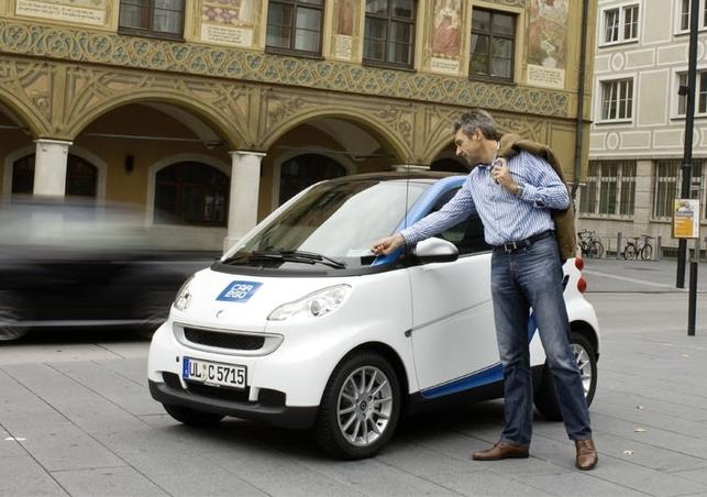 50 Smart Fortwo en libre-service : le projet car2go