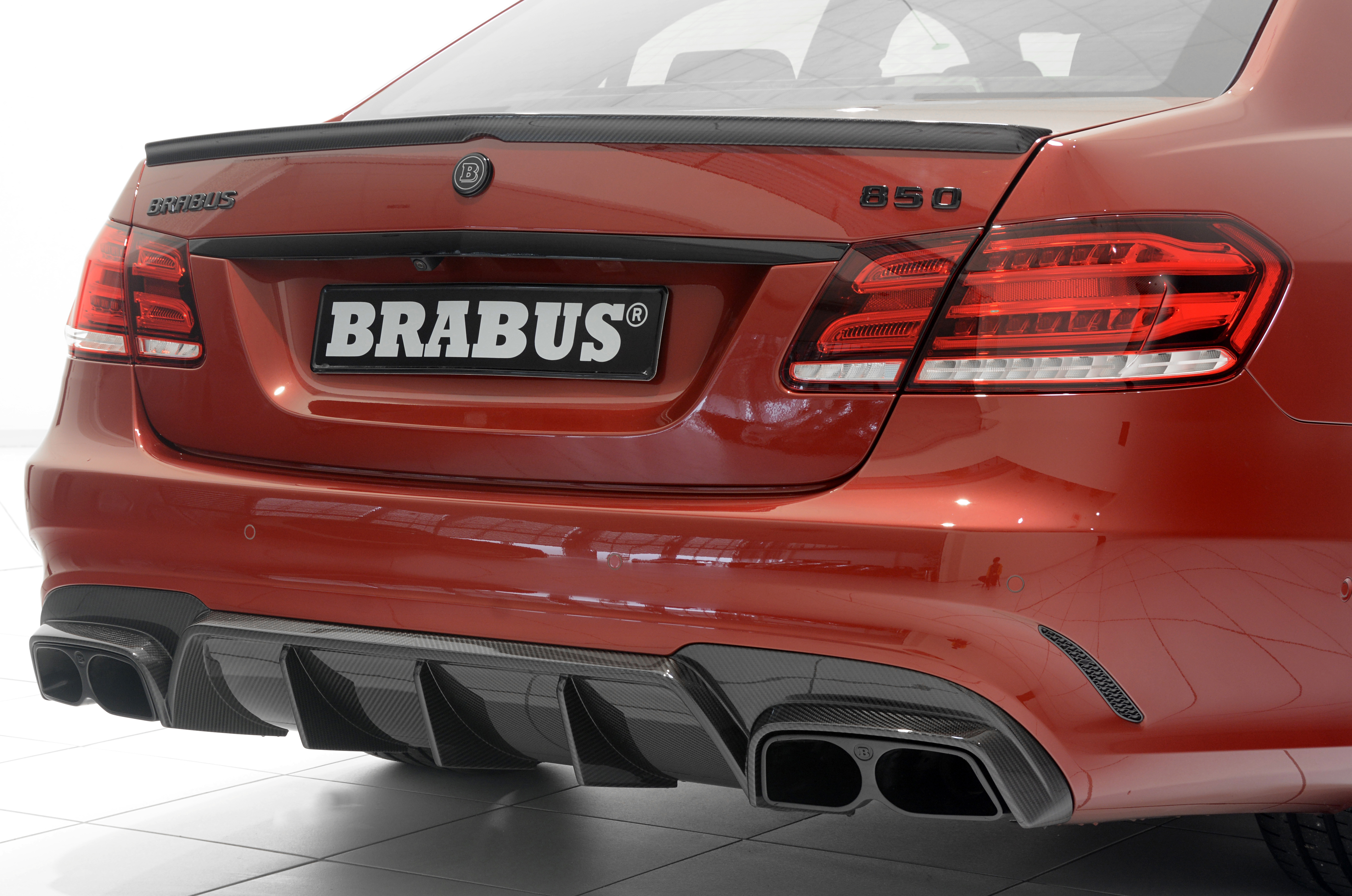 Nouvelle Brabus 850 6 0 Biturbo Moins De Cylindres Mais