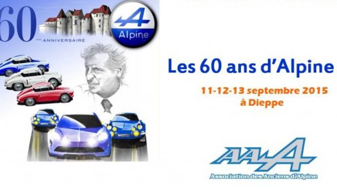 Renault célèbre à Dieppe les 60 ans d'Alpine : un rassemblement record