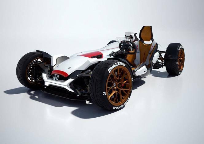 Salon de Francfort 2015 - Honda Project 2&4 : pour le plaisir