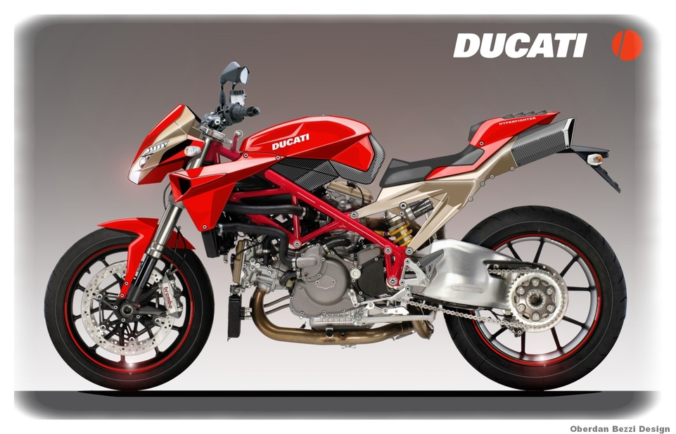 Ducati Hyperfighter : une nouvelle de 2009?