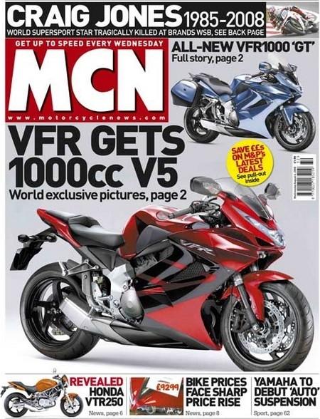 Honda VFR 1000 2009 : Le V5 se précise...