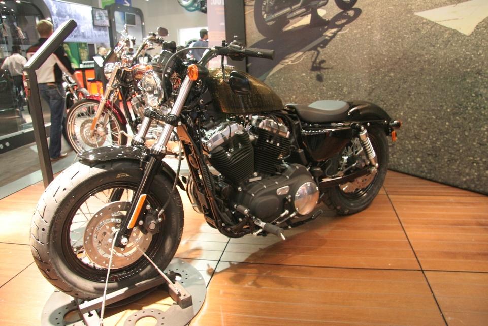 En direct d'Intermot : les 110 ans d'Harley Davidson !