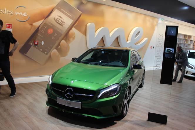 Mercedes Classe A restylée : la timide - Vidéo en direct du salon de Francfort