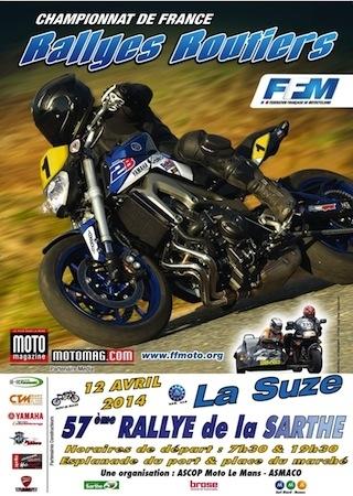 Rallye de la Sarthe 2014: c'est ce week-end