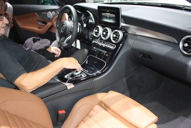 Mercedes Classe C coupé : So sexy ! - En direct du salon de Francfort 2015