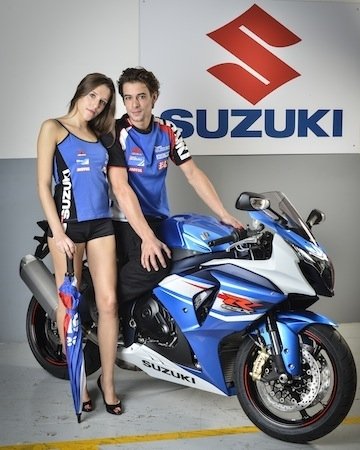 Suzuki: les fringues 2014 sont arrivés