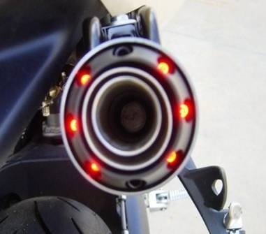 4 silencieux Ixil pour la Z750 2007-2008