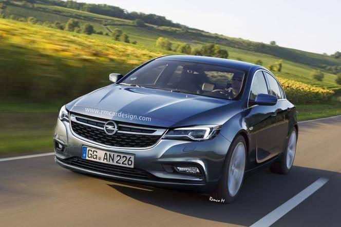 Future Opel Insignia : comme ça