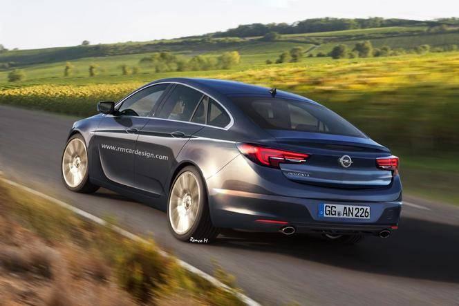 Future Opel Insignia : comme ça ?