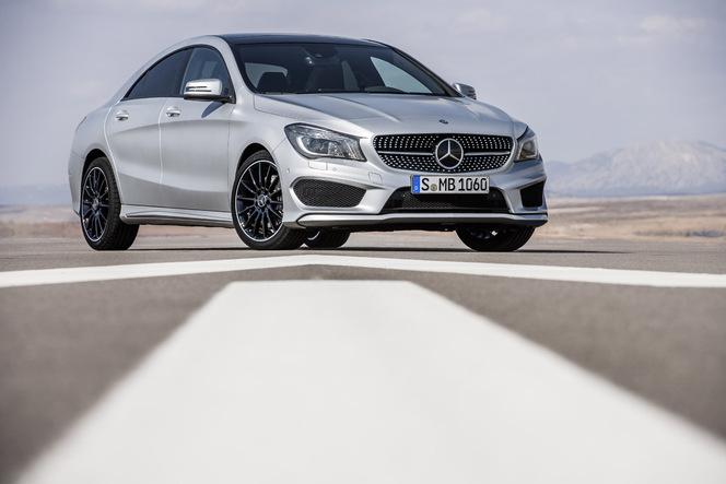 Toutes les nouveautés de Genève 2013 - Mercedes CLA : petit coupé