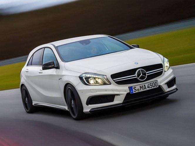 Toutes les nouveautés de Genève 2013 - Mercedes Classe A45AMG : méchante
