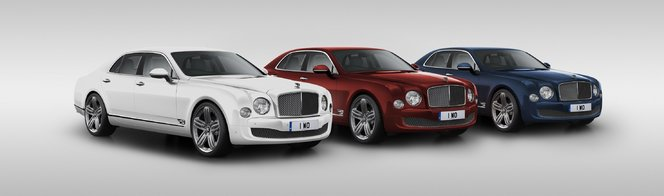Bentley fête ses 95 ans avec une Mulsanne spéciale
