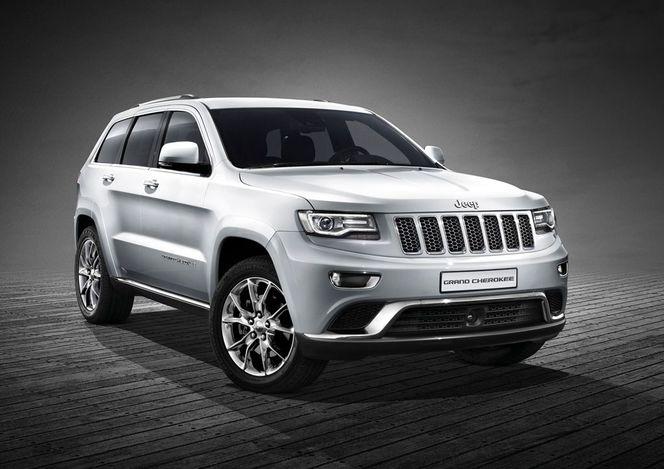 Toutes les nouveautés de Genève 2013 - Jeep Grand Cherokee restylé : rimmel