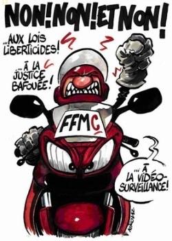 La FFMC se mobilise contre Edvige