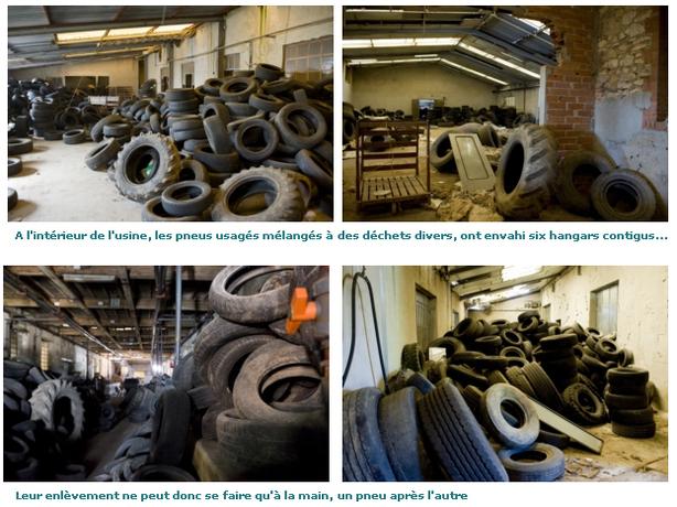 L'association Recyvalor : pas de pitié pour les pneus usagés !
