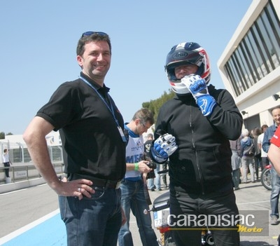 Interview de Jean-Pierre Bonato, chef d'orchestre de la Sunday Ride Classic.