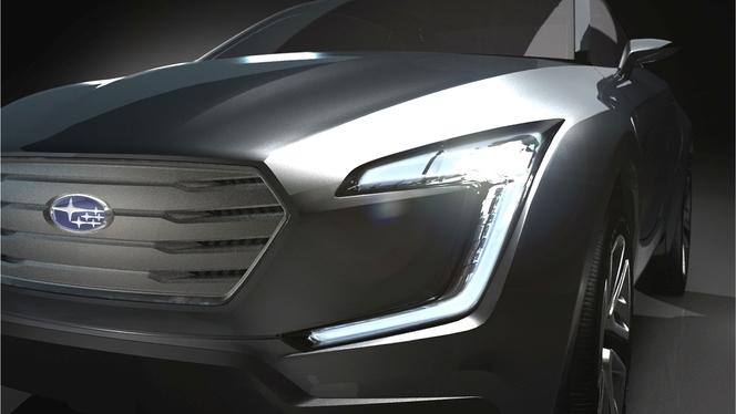 Toutes les nouveautés de Genève 2013 - Subaru VIZIV Concept : orientations